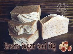 Brown Sugar and Fig goat milk soap