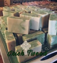 Irish Tweed Soap