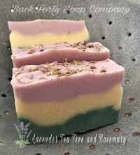 Lavender Rosemary and Tea Tree Goat Milk soap