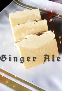 Ginger Ale Goat Milk Soap