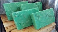 Eucalyptus with Himalayan Pink Salt ESO goat milk soap